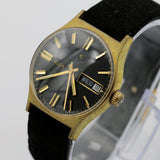 1960s Elgin Men's Gold 17Jwl Swiss Made Watch w/ Strap
