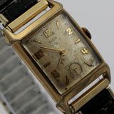 1956 Elgin Men's 17Jwl 10K Gold Made in USA Watch