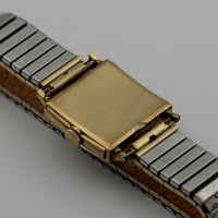 1949 Elgin DeLuxe Men's 10K Gold Made in USA Watch w/ Bracelet