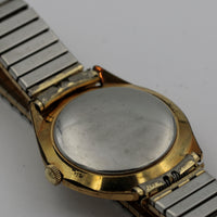 Elgin Men's Gold 17Jwl Automatic Made in Germany Calendar Watch - Very Rare