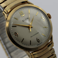 Elgin Men's 10K Gold 17Jwl Automatic Made in Germany Watch w/ Bracelet
