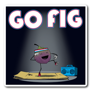 Go Fig Sticker