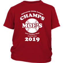 Moe's Little League Champs Shirt