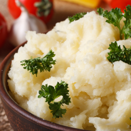 Homemade Mashed Potatoes