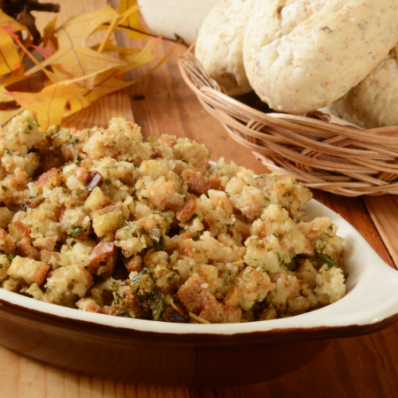 Homemade Stuffing with Vegetables