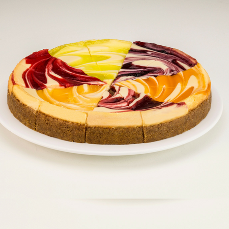Mixed Cheesecake