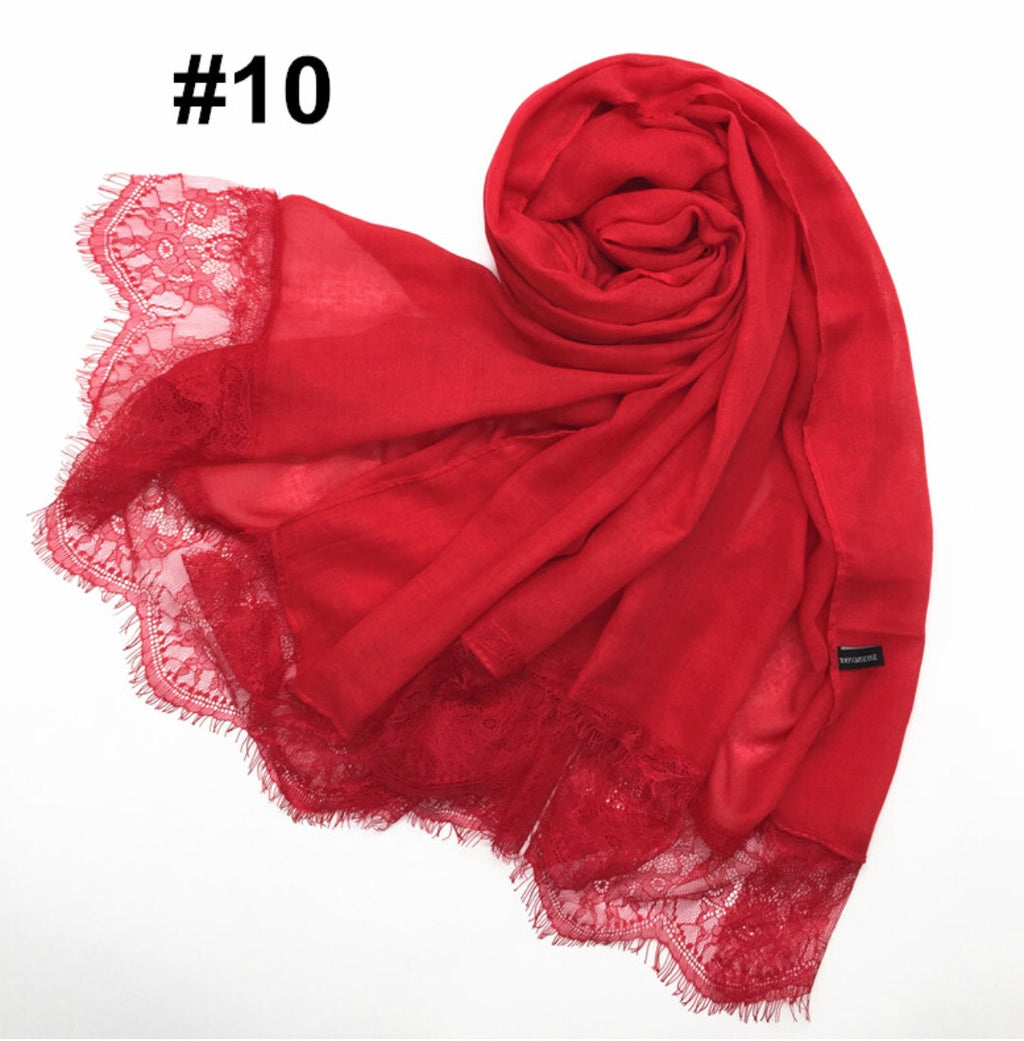 Cotton Lace Scarves