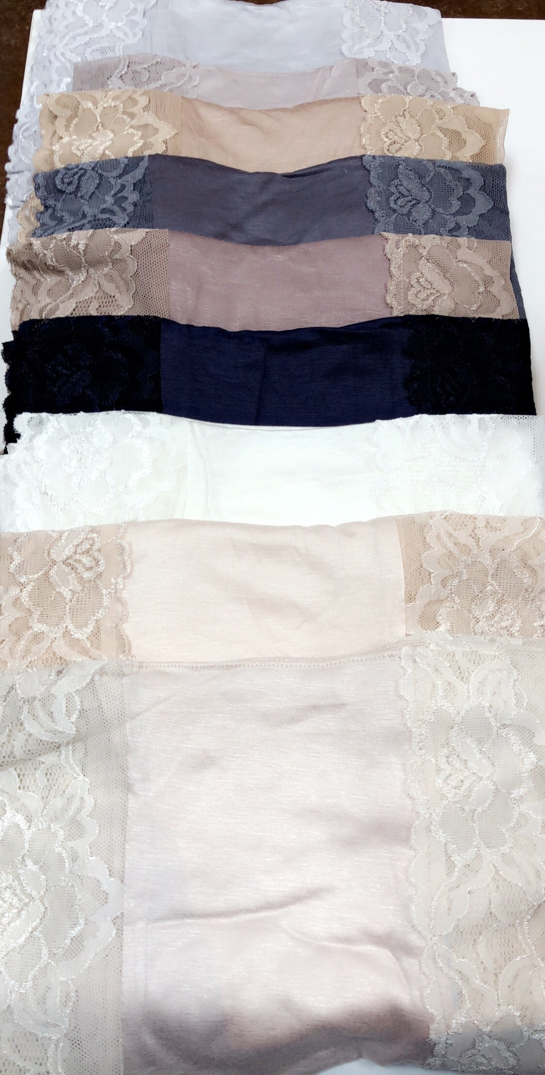 High Quality Jersey and Lace Kuwait Scarves