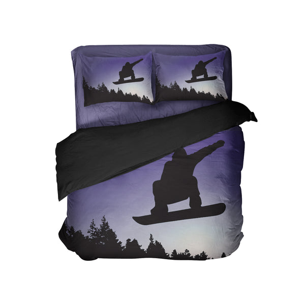 KIDS SNOWBOARD COMFORTER SET FROM KIDS BEDDING COMPANY