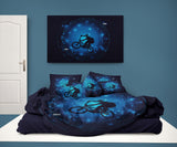 "Kids BMX Comforter ""In the Vortex"" with matching sheet set"
