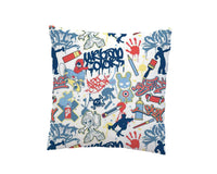 GRAFFITI SKATEBOARD THROW PILLOW FROM KIDS BEDDING COMPANY
