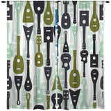 SWAGGY GUITARS WINDOW CURTAINS FROM KIDS BEDDING COMPANY