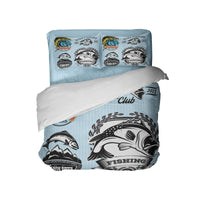 BASS FISHING COMFORTER AND PILLOWCASES FROM KIDS BEDDING COMPANY