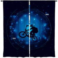 KIDS BMX WINDOW CURTAINS IN THE VORTEX