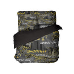 Kids Graffiti Skateboard Comforter and Skateboard Sheets FROM KIDS BEDDING COMPANY
