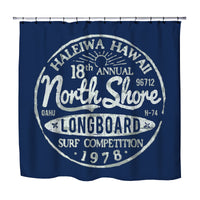 BLUE NORTH SHORE HALEIWA, HAWAII SHOWER CURTAIN