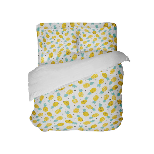 Sweet Pineapples Comforter Set from Kids Bedding Company