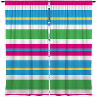 BEACH STRIPES WINDOW CURTAINS FROM KIDS BEDDING COMPANY
