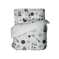 ROCKETS IN SPACE COMFORTER SET FROM KIDS BEDDING COMPANY