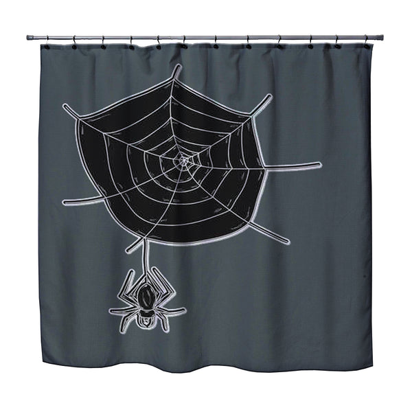 kids halloween shower curtain