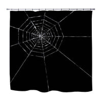 Kids Spider Web Shower Curtain
