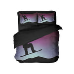 KIDS STEEZY SNOWBOARD COMFORTER SET
