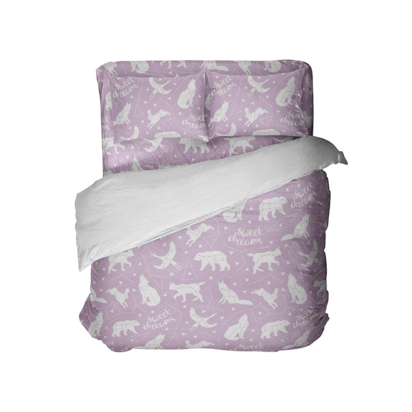 SWEET DREAMS COMFORTER, SHEETS AND PILLOWCASES FROM KIDS BEDDING COMPANY