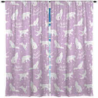 SWEET DREAMS WINDOW CURTAINS FROM KIDS BEDDING COMPANY
