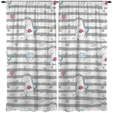 UNICORNS WINDOW CURTAINS FROM KIDS BEDDING COMPANY