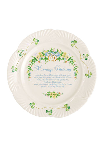 Belleek Wedding Plate