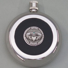 Irish Silver Finish and Pewter Flask