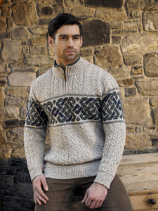 Celtic Knot Aran sweater