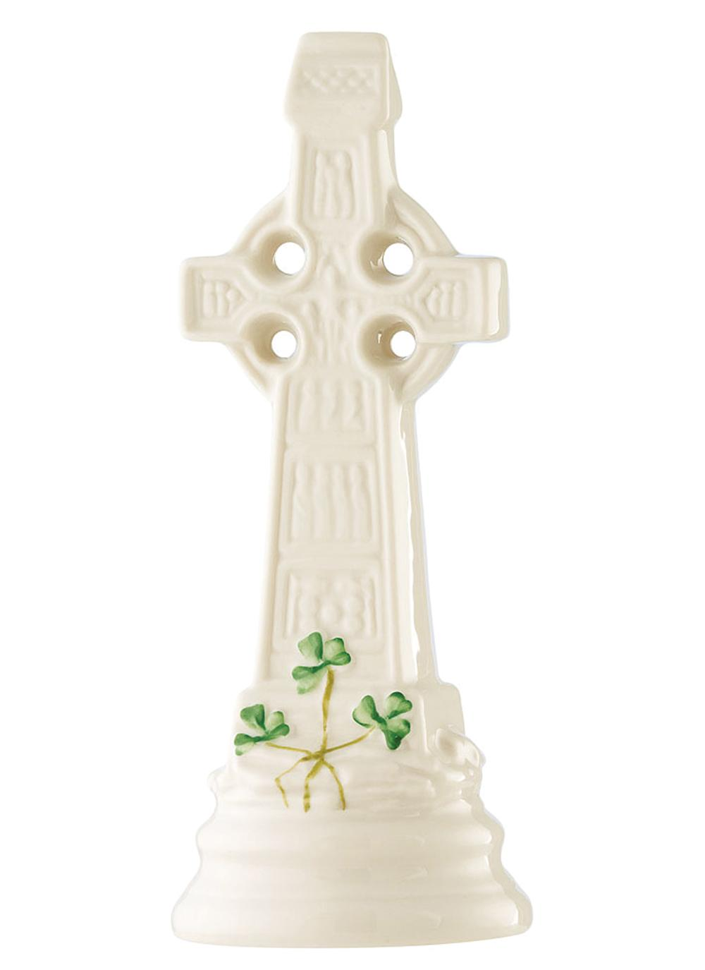 Belleek Standing Celtic Cross