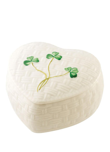 Belleek Kylemore Trinket Heart Box