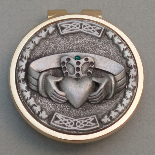 Irish Medallion Money Clip