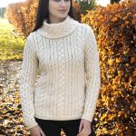 GLENCAR COWL NECK SWEATER