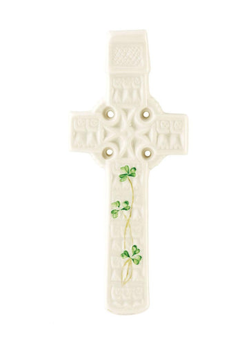 Belleek Celtic Wall Cross