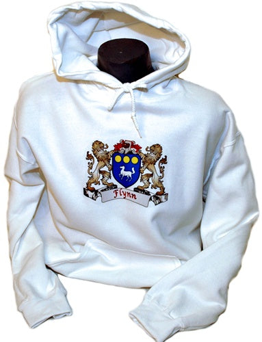 Personalized Coat of Arms Hooded Sweatshirt