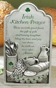 Irish Kitchen Plaque