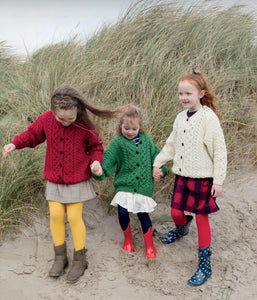 Traditional Child's Aran Knit Cardigan