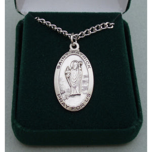 Sterling Silver St. Patrick Medal