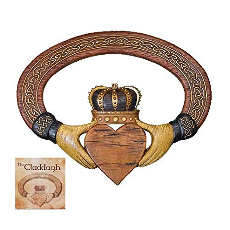 Irish Claddagh Wall Plaque