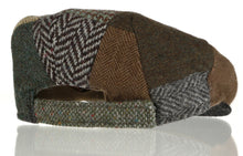Kid's Tweed Irish Flat Caps Back view