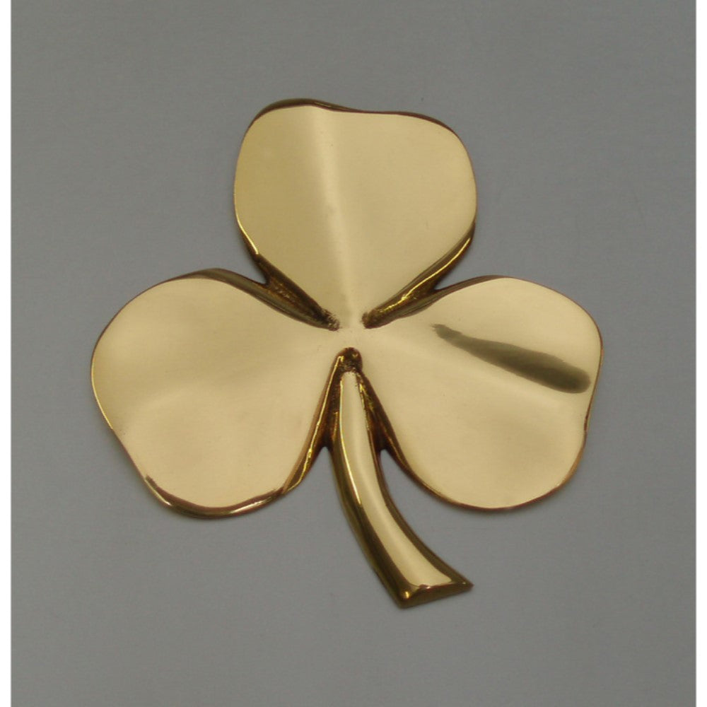 Brass Shamrock Wall Hanging or Paperweight