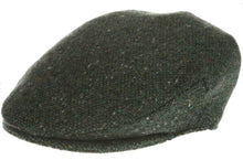 Vintage Tweed Hanna Traditional Irish Flat Cap Green