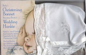 Baby Bonnet/Wedding Hankie