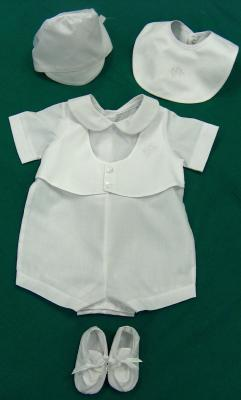Little Boy's Irish Christening Outfit