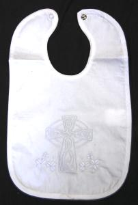 Irish Christening Bib