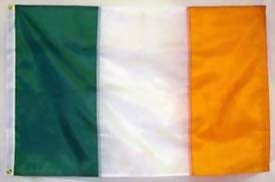 Heavyweight 2' x 3' Irish Flag