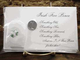 Irish Bridal Five Pence